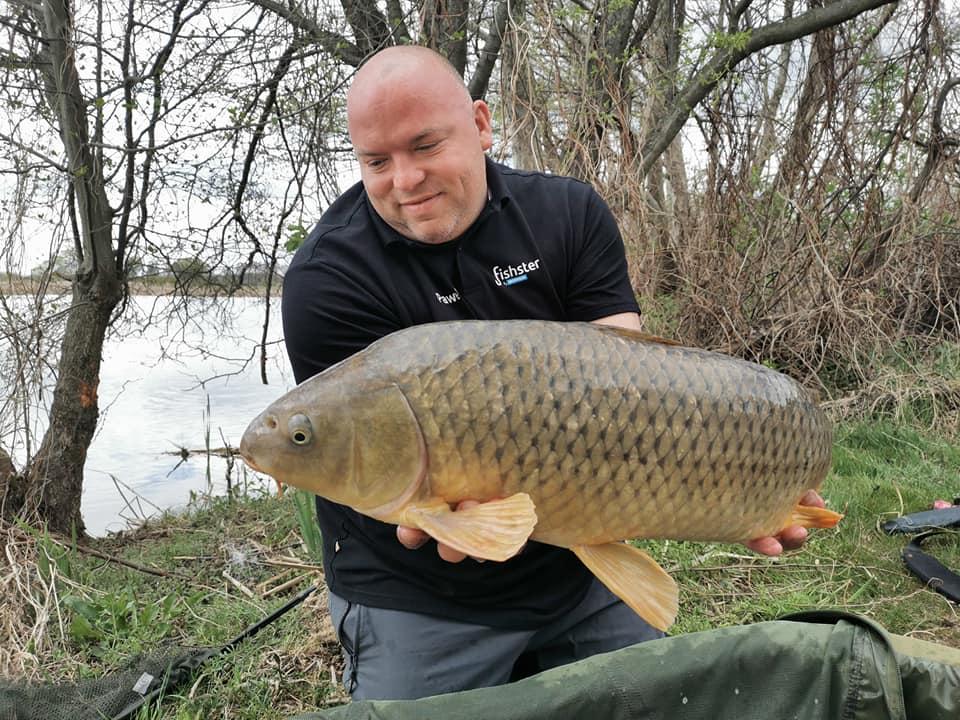 Pierwsza ryba 9kg